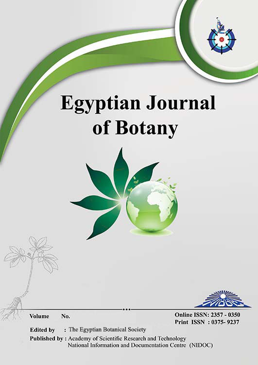 Egyptian Journal of Botany